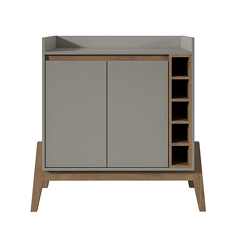 Manhattan Comfort Essence Buffet Stand in Grey