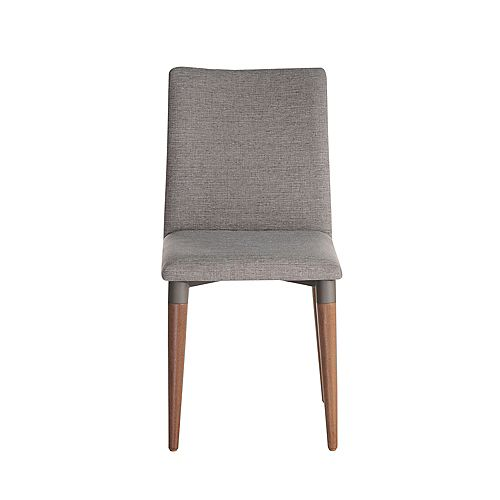 Manhattan Comfort Charles Dining Chair in Grey