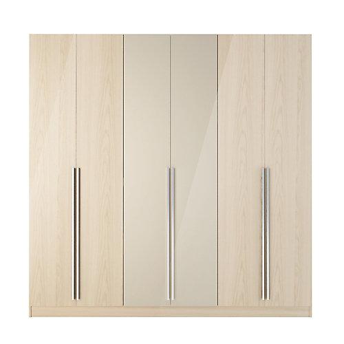 Armoire à tiroirs Eldridge 4 en nature et nue