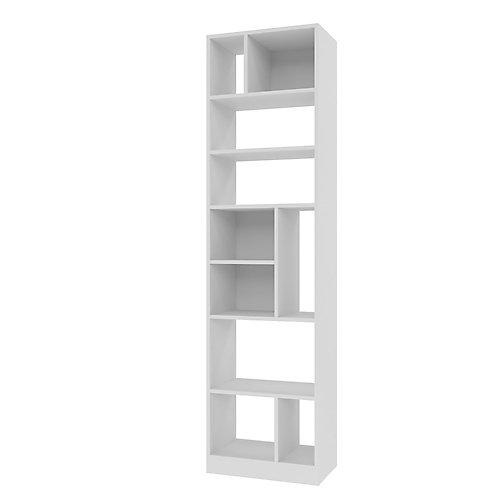 Valenca Bibliothèque 4.0 avec 10 étagères en blanc