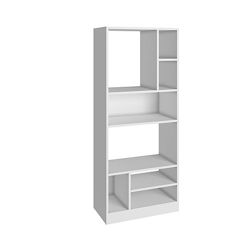 Valenca Bookcase 3.0 with  8 shelves in White