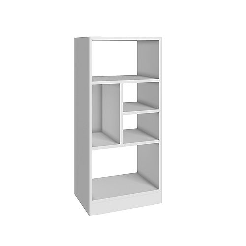Valenca Bookcase 2.0 with  5 shelves in White
