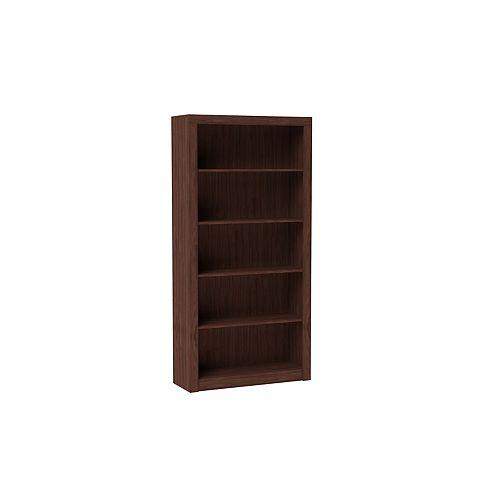 Olinda Bookcase 1.0  with  5 shelves in Tobacco