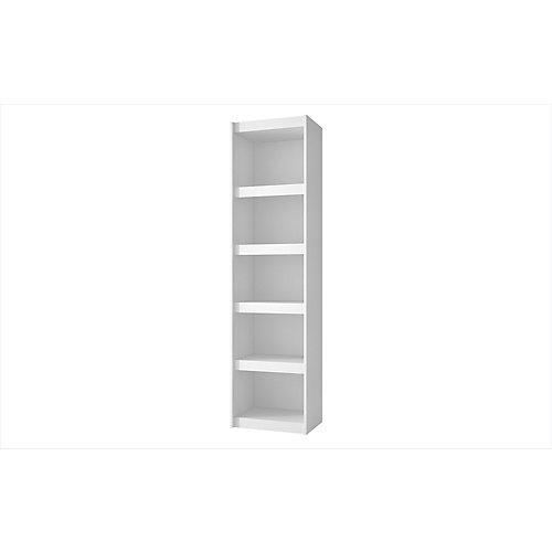 Parana 2.0 Bibliothèque avec 5 étagères en blanc