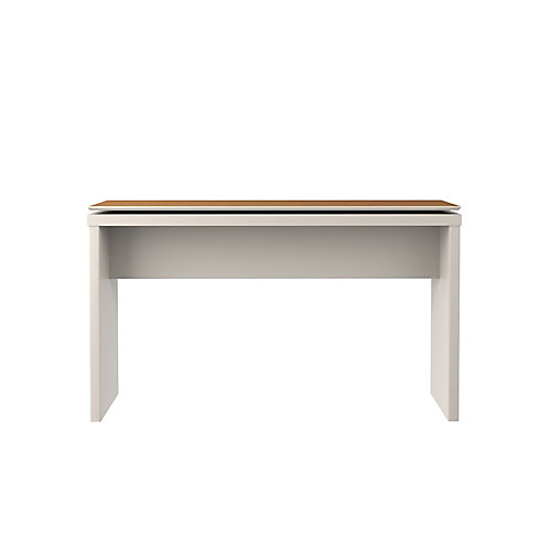 """Lincoln 53.14"""" Sideboard and Entryway in Off White and Maple Cream"""