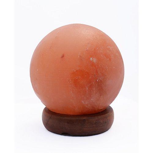 5 pouce Himalayan Sphère de lampe de sel 1.5 avec gradateur