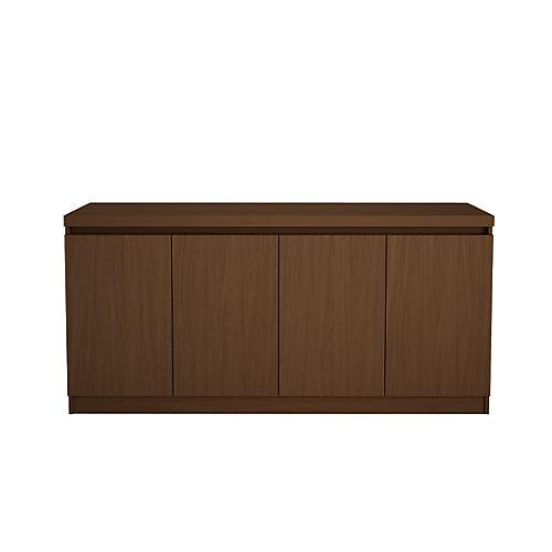 Viennois 62,99 pouce Cabinet buffet avec 6 étagères en brun