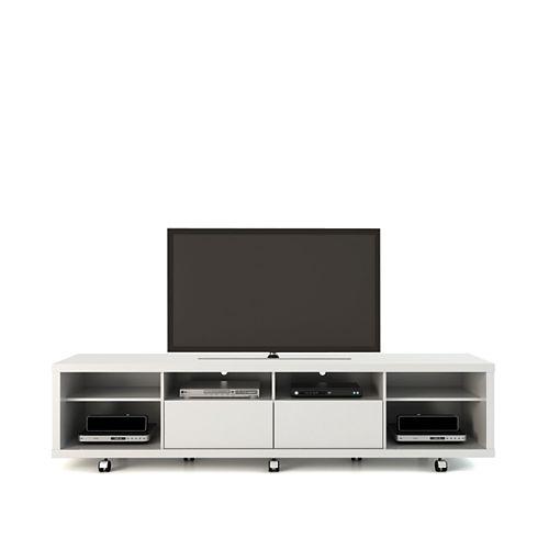 Manhattan Comfort Cabrini TV Stand 2.2 in White Gloss