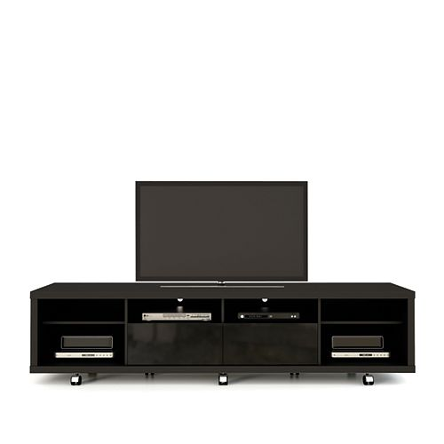 Manhattan Comfort Cabrini 2.2 TV supporter en noir