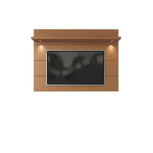 Cabrini Floating Wall TV Panel 1.8 in Maple Cream