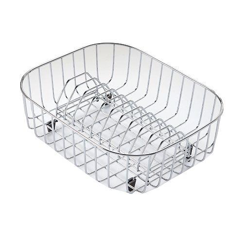 Égouttoir à vaisselle en acier inoxydable - 14  inch x 11  inch x 5 1/10 inch