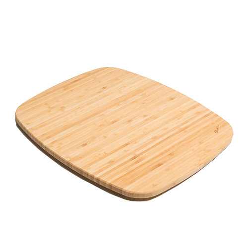 Bamboo Cutting Board - 13  inch x 15  inch x 1  inch