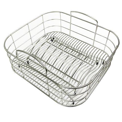 Égouttoir à vaisselle en acier inoxydable - 15 inch x 12.5 inch