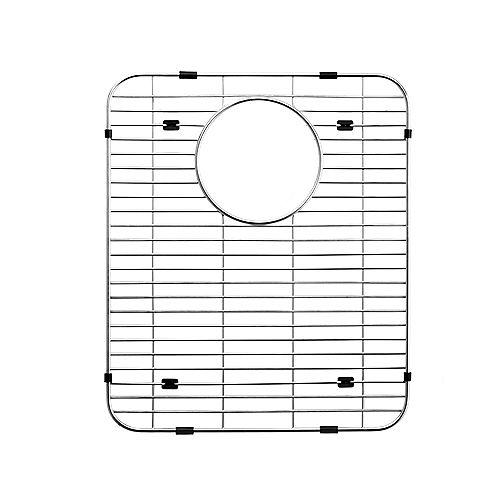 Grille de fond en acier inoxydable - 11 7/10 inch x 13  inch