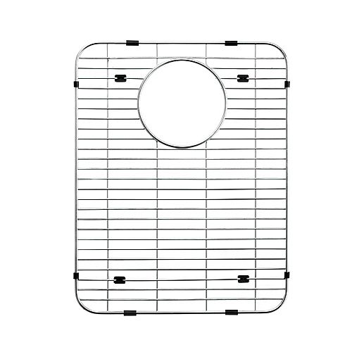 Grille de fond en acier inoxydable - 16 9/16 inch x 13 inch