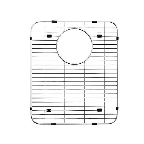 Grille de fond en acier inoxydable - 11 11/16 inch x 14 5/16 inch