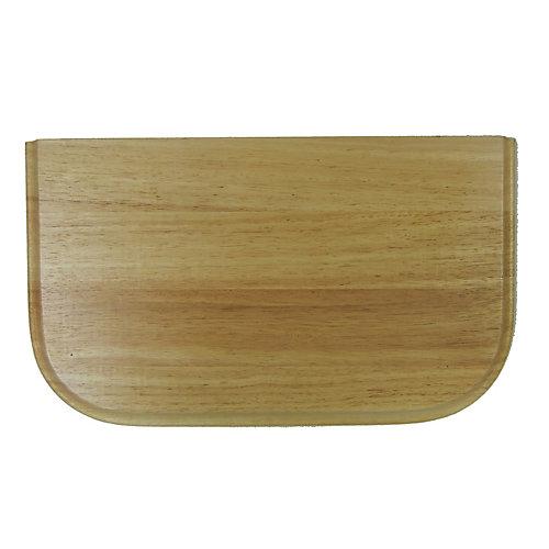 Rubberwood Cutting Board - 10 inch x 17 inch