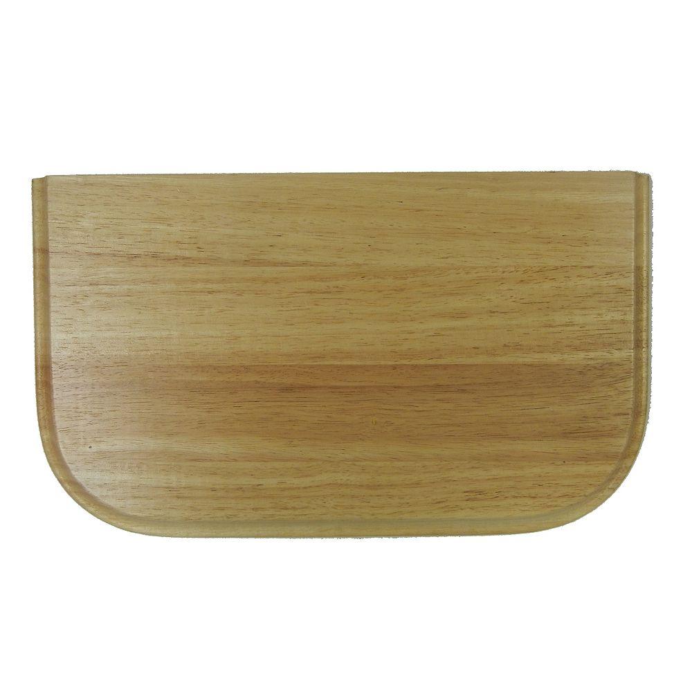 Wessan Rubberwood Cutting Board - 10 inch x 17 inch
