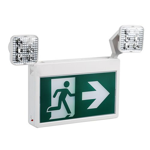Nextlite 2-Light LED Running Man Exit Sign