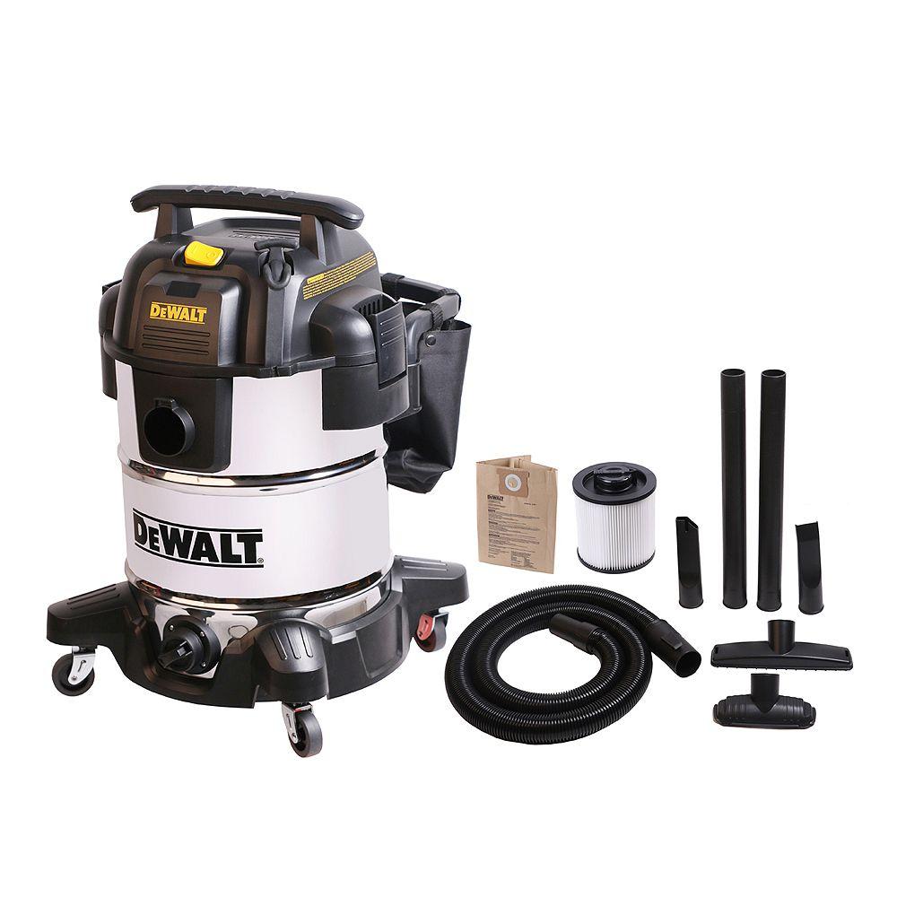 DEWALT 38L Pro Stainless Steel Wet/Dry Vacuum