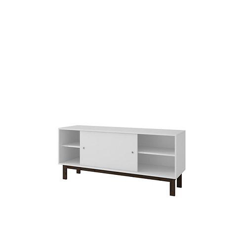 Solna Splayed Leg TV Stand in White