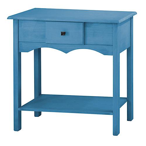 Jay 31,49 inch Tall Buffet avec 1 tiroir d'extension complet en bleu