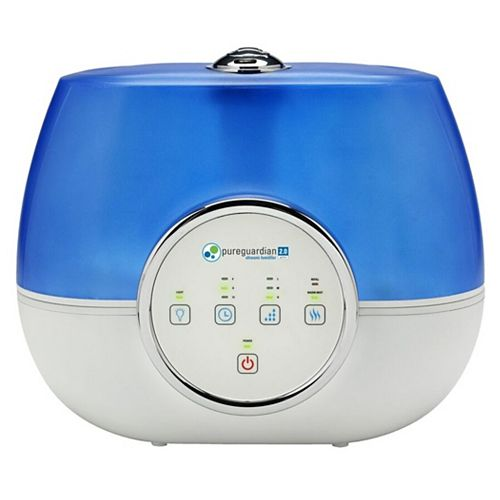 7.5L 120-Hour Ultrasonic Warm and Cool Mist Humidifier with Aromatherapy