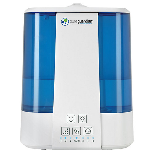 7.5L Top Fill Ultrasonic Warm and Cool Mist Humidifier with Aroma Tray
