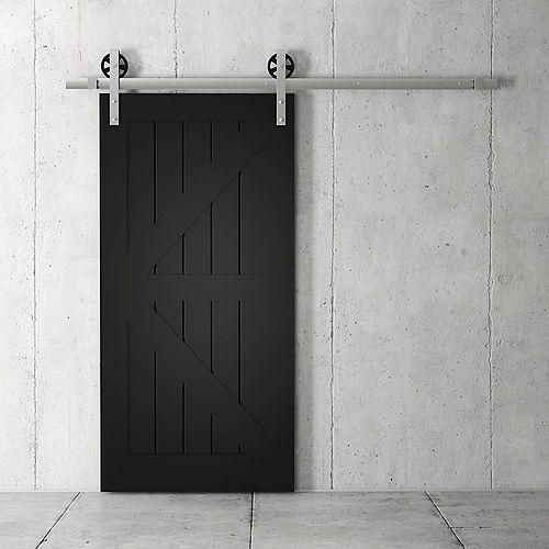 Manhattan Kit de porte de grange 83 x 40 po avec quincaillerie