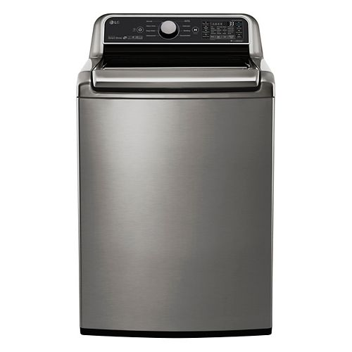 5.8 cu.ft Top Load Washer with in Graphite Steel - ENERGY STAR®