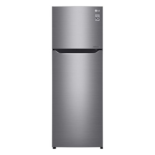 24-inch W 11 cu.ft. Top Freezer Refrigerator in Platinum Silver, Apartment-Size and Counter-Depth