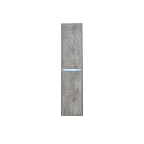 Modo Casey 14 inch Wall hung Linen Cabinet with LED light  Right Hinge
