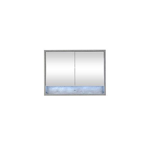 """Modo Casey 40"""" armoire à pharmacie avec lumière LED"""