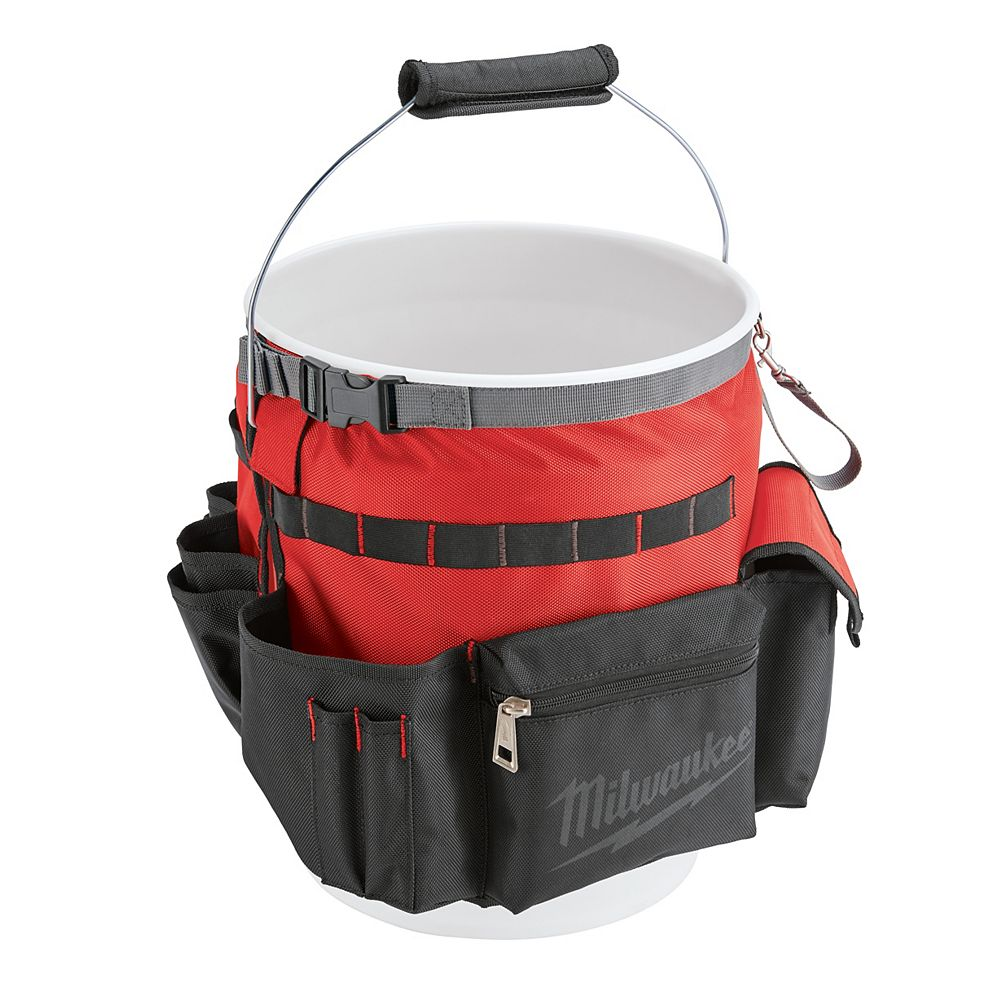 Milwaukee Tool 10 in. Bucket Organizer Tool Bag