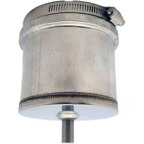 Z-Vent 4 inch. Tee Cap w/Drain