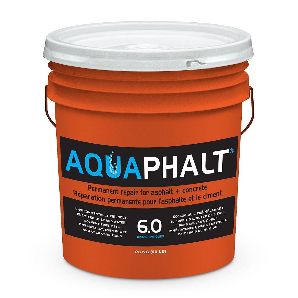 Aquaphalt 6 0 Medium 23 Kg Permanent Asphalt Repair Patch The Home Depot Canada