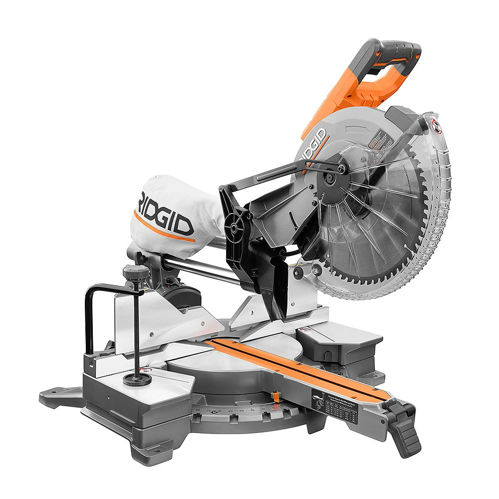 Rigid R4222 15 Amp Corded 12-Inch Dual Bevel Sliding Mitre Saw