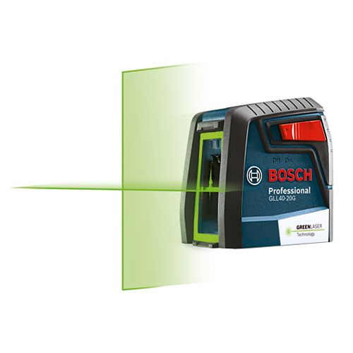 Bosch Green-Beam Self-Levelling Cross-Line Laser
