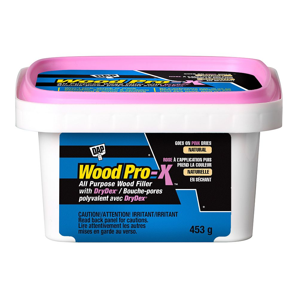 DAP WOODPRO-X Wood Filler with DryDex Dry Time Indicator 453g