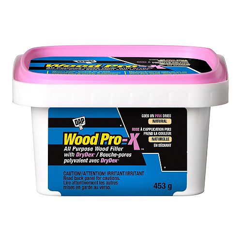 WOODPRO-X Wood Filler with DryDex Dry Time Indicator 453g
