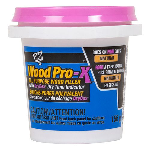 DAP WOODPRO-X Wood Filler with DryDex Dry Time Indicator 156g