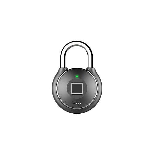 Cadenas Bluetooth One Plus Smart de avec lecteur d'empreintes digitales biométriques - gris