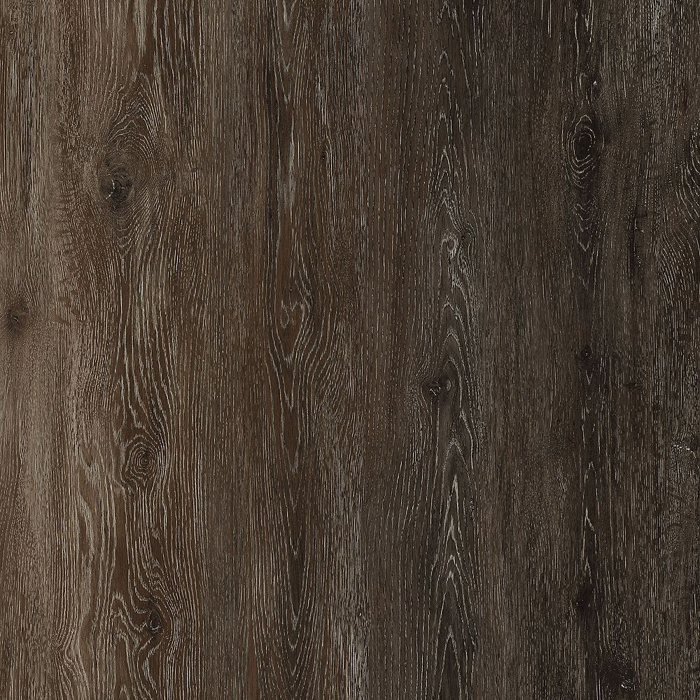 TrafficMASTER Khaki Oak Dark 6-inch x 36-inch Luxury Vinyl Plank Flooring (24 sq. ft. / case)