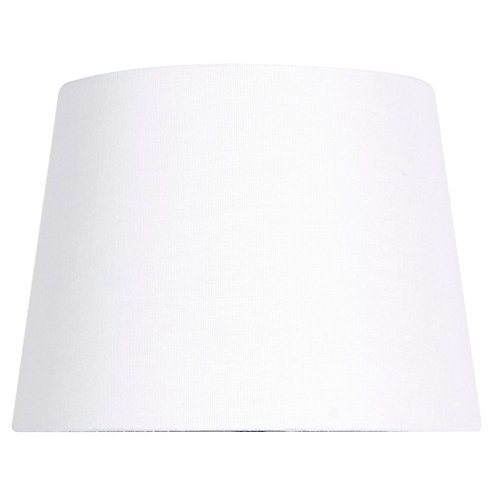 Mix and Match 10-inch Dia x 7-inch H White Round Accent Lamp Shade