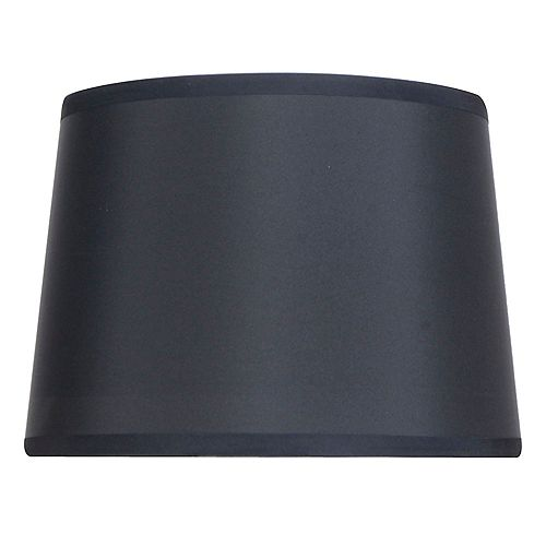 14 inch DIA Black Nylon Blend Table Lamp Shade