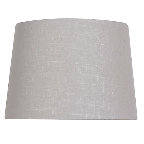 14 inch DIA Grey Linen Table Lamp Shade