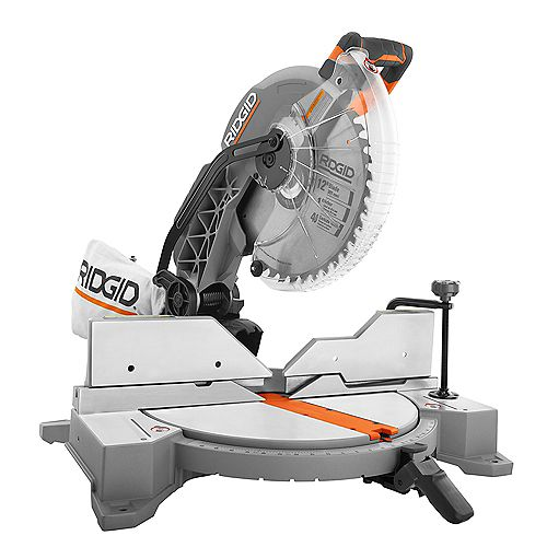 15 Amp Corded 12-inch Dual Bevel Miter Saw with LED