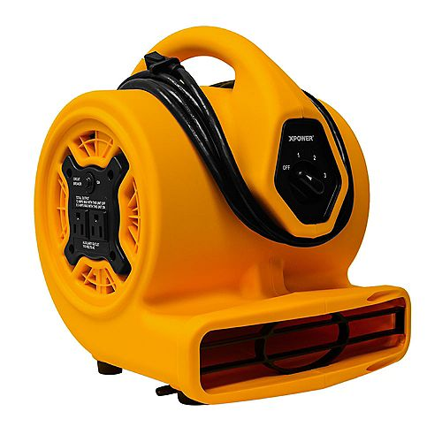 1/5 Hp Compact Air Mover With Daisy Chain