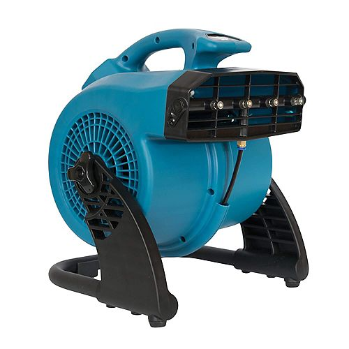 3 Speed Portable Outdoor Cooling Misting Fan