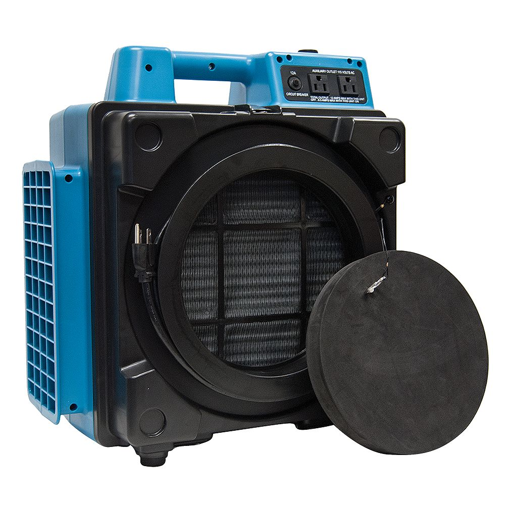 XPOWER Professional 3 Stage Hepa Mini Air Scrubber